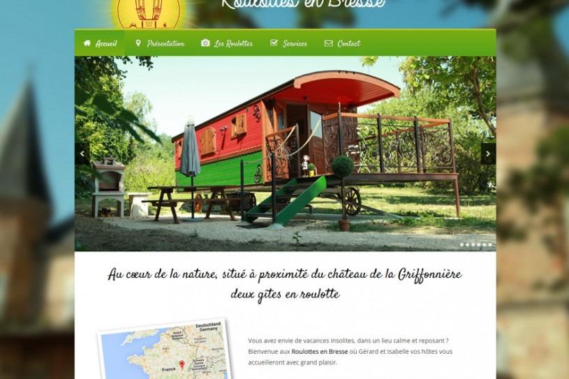 Roulottes en Bresse - 01