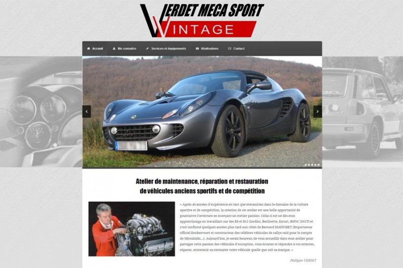 Site Internet Verdet Méca Sport