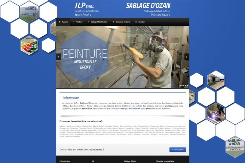 Site Internet JLP Sablage d'Ozan