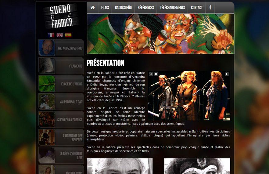 Site Web de Sueno en la Fabrica