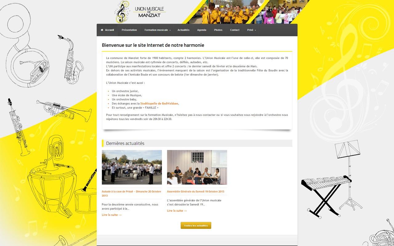 Site Internet UM de Manziat