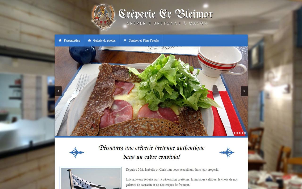 Site Internet de Er Bleimor