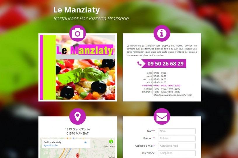 Site Internet le Manziaty