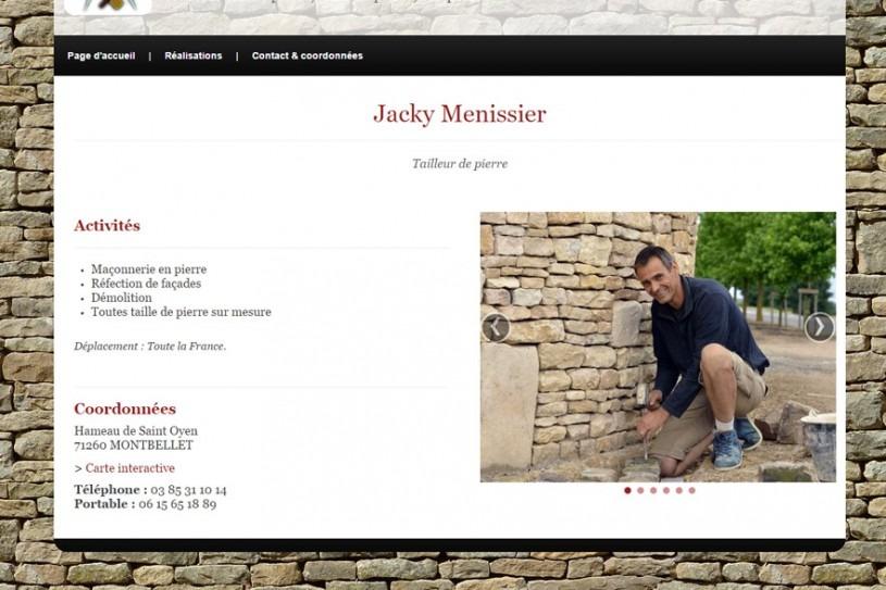 Site Internet Jacky Menissier