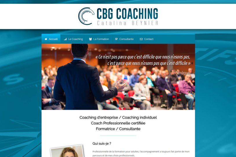 Site Internet de CBG Coaching