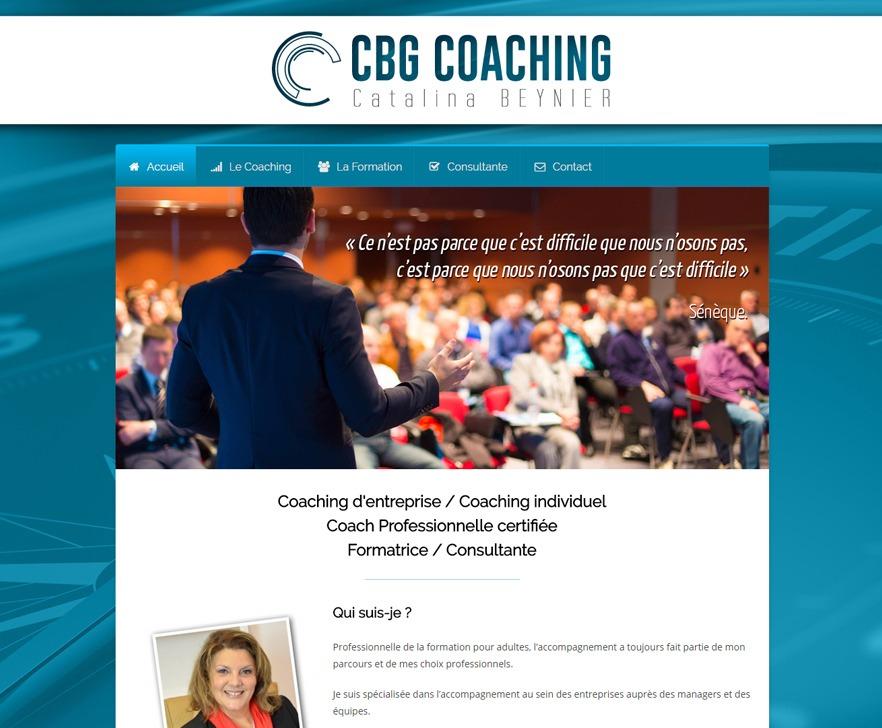 Site Internet de CBG Coaching