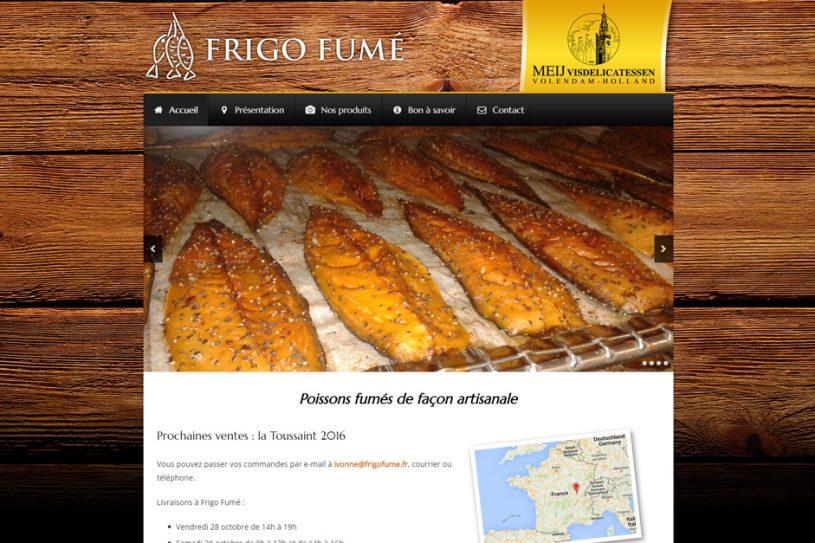 Site Internet de Frigo Fumé