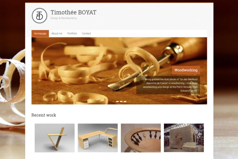 Site Internet de Timothée Boyat