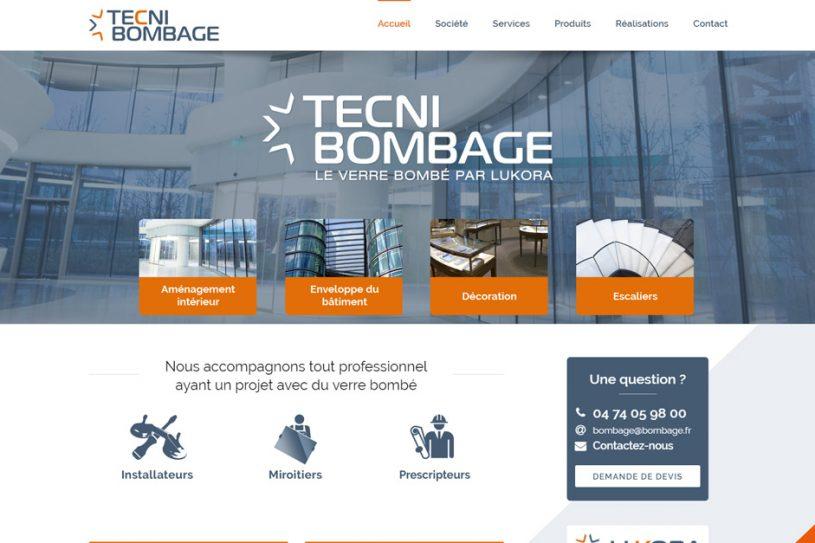 Site Internet de Tecni Bombage