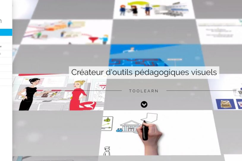 Site Internet de Toolearn en une