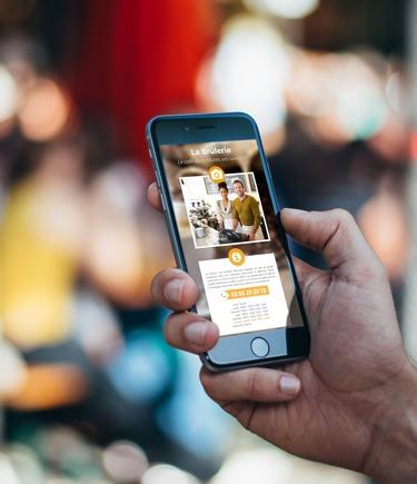Le site Mini est particulièrement adapté aux équipements mobiles