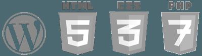 Logos WP HTML5 CSS3 PHP7