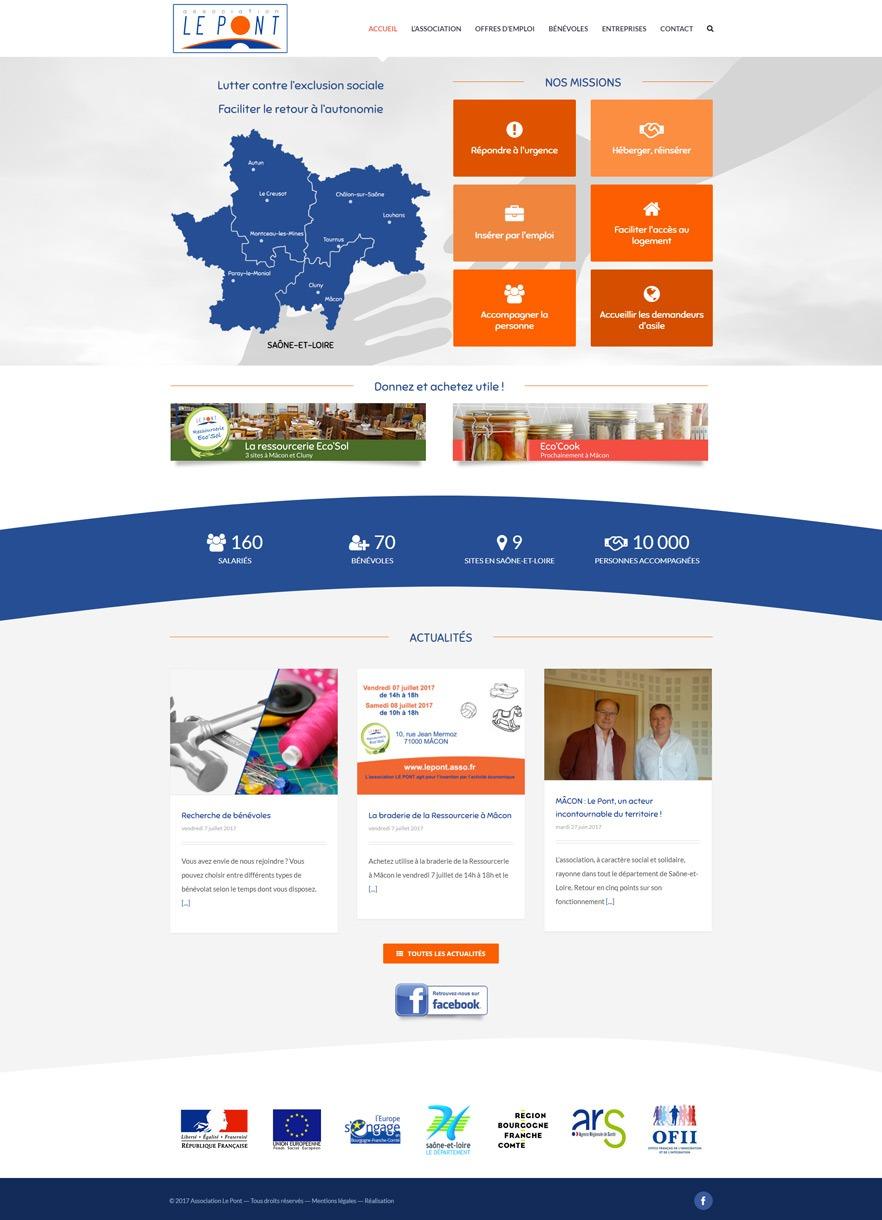Site Internet Le Pont