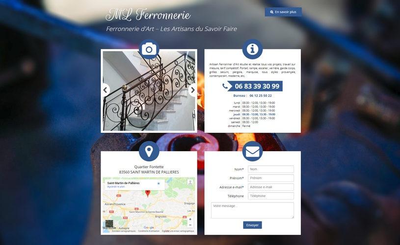 ML Ferronnerie - Artisan Ferronnier