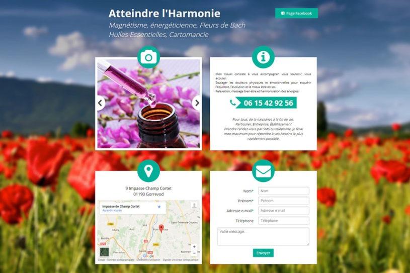 Site web de Atteindre l'Harmonie