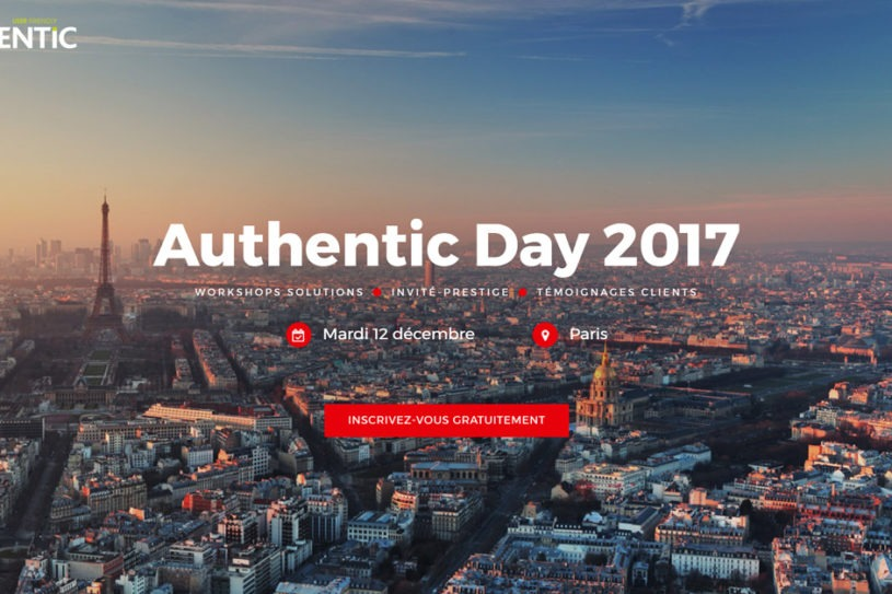 Site Internet Authentic Day 2017