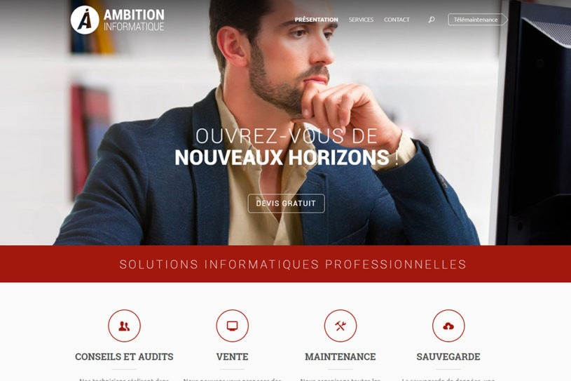 Site Ambition Informatique