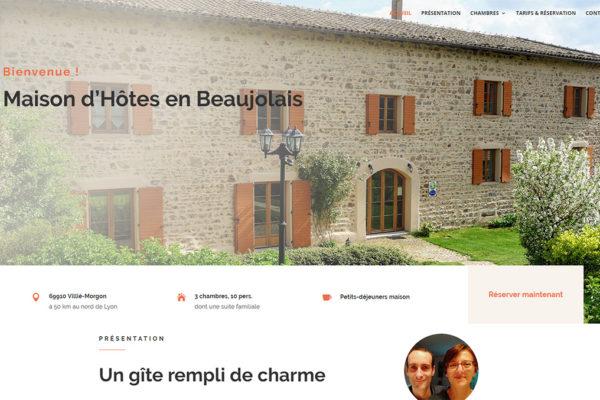 Maison d'Hôtes en Baeaujolais